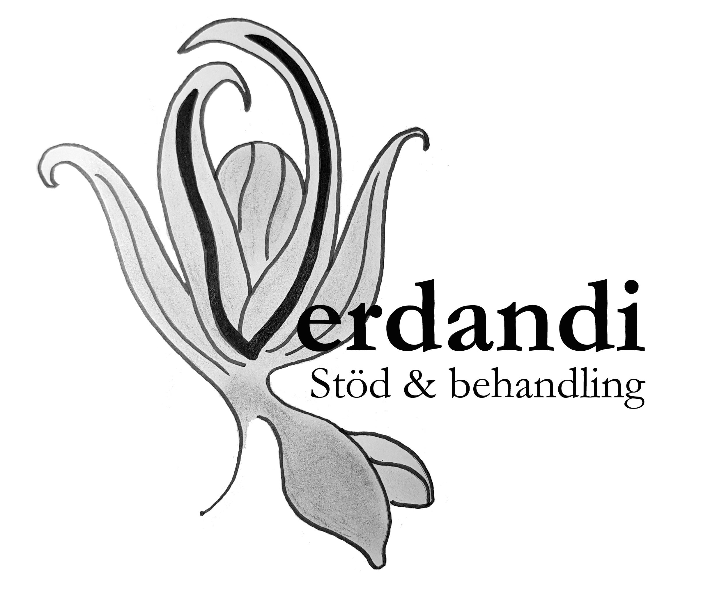 logotyp Verdandi Stöd & Behandling